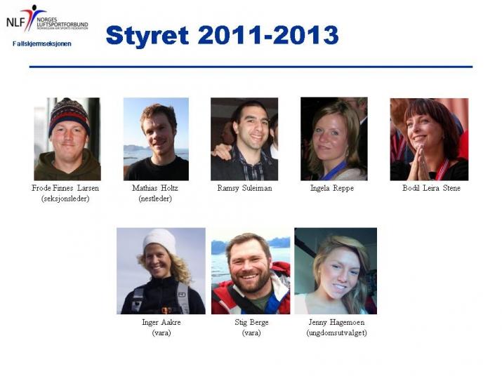 Styret 2011-2012